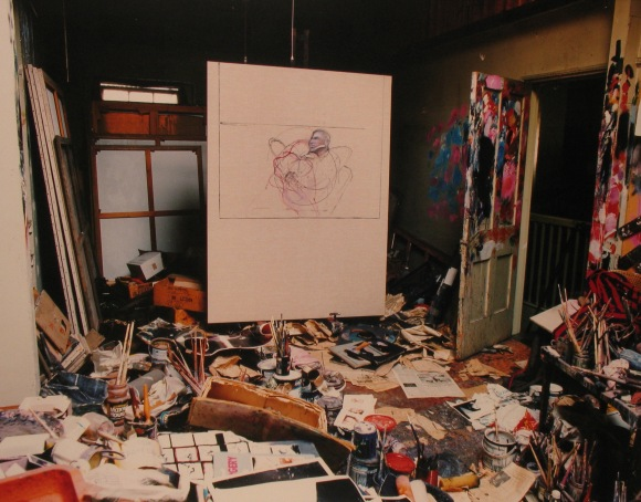 Perry Ogden, Photographs of Francis Bacon's Studio at 7, Reece Mews. 1998